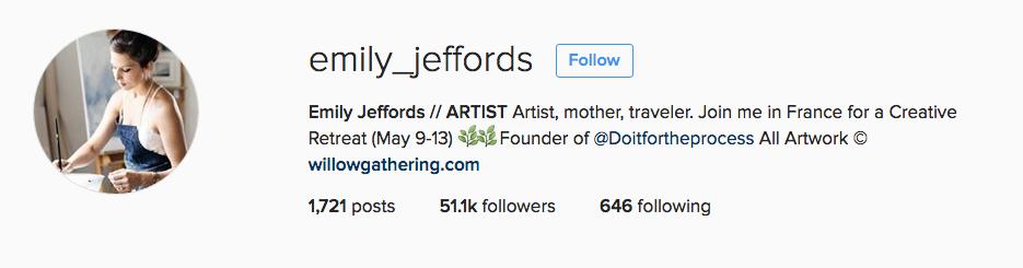 Emily Jeffords - Landscape Artist on Instagram