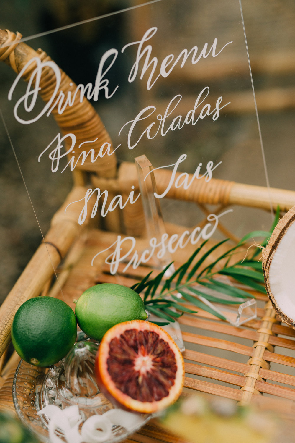 Tropical Bridal Shower Styled Shoot -