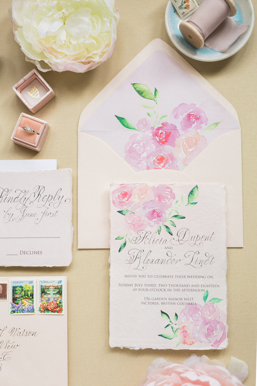 Calgary wedding calligrapher Debbie Wong Design French Garden-2.JPG