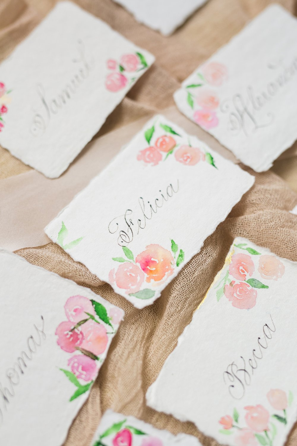 Calgary wedding calligrapher Debbie Wong Design French Garden-5.JPG