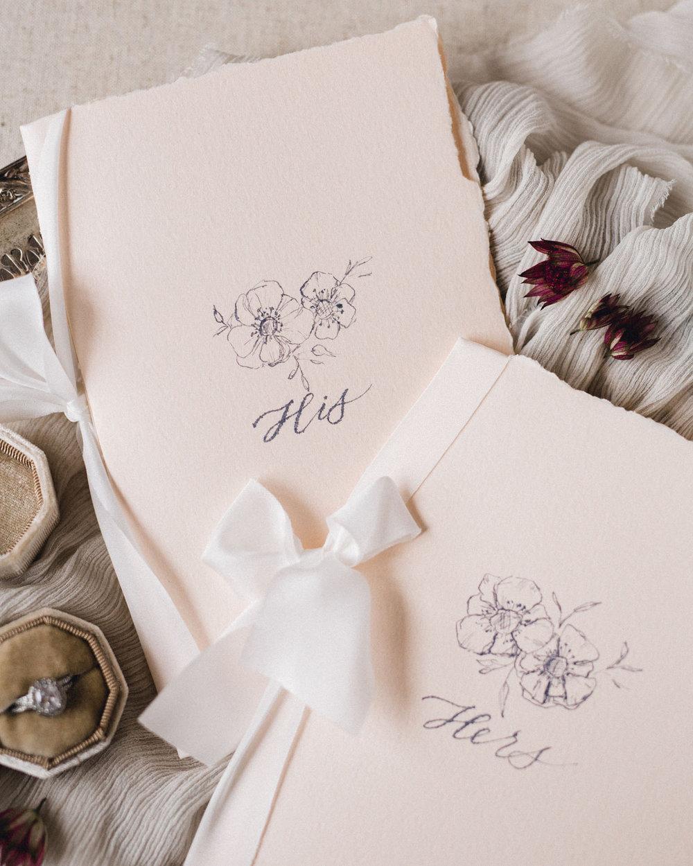 Debbie Wong Design calligrapher anemone vow books 2.jpg