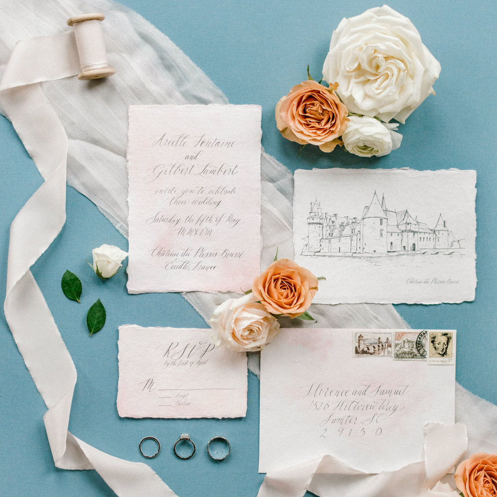 French Romance Styled Shoot