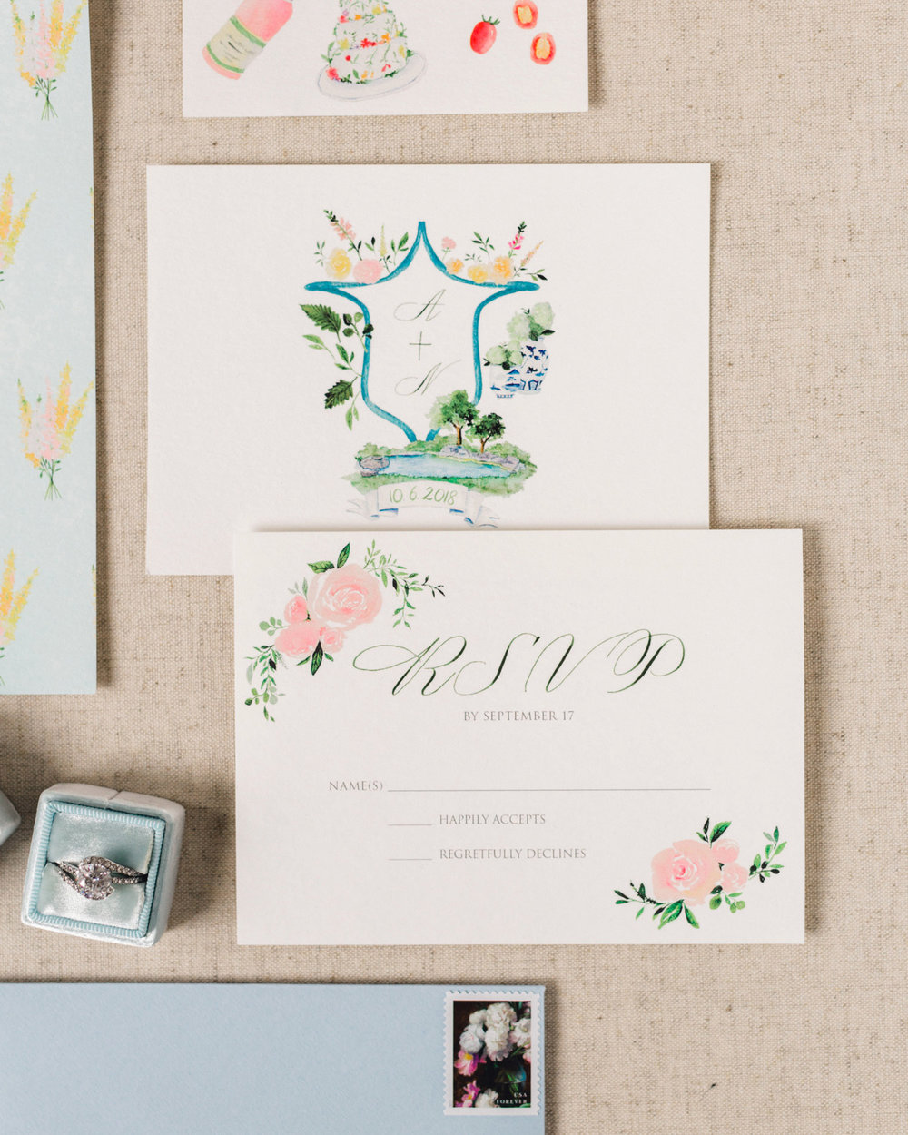 Watercolor wedding stationery 4.JPG