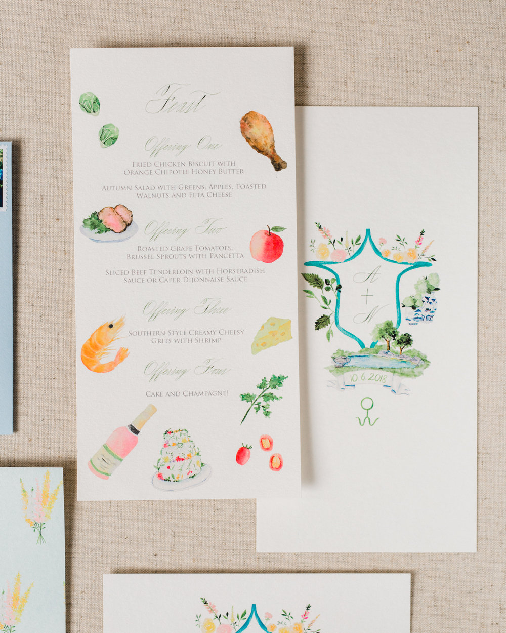 Watercolor wedding stationery 6.JPG