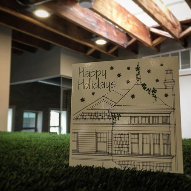 Happy Holidays from our office to yours. #chicago #architecture #interiordesign #office