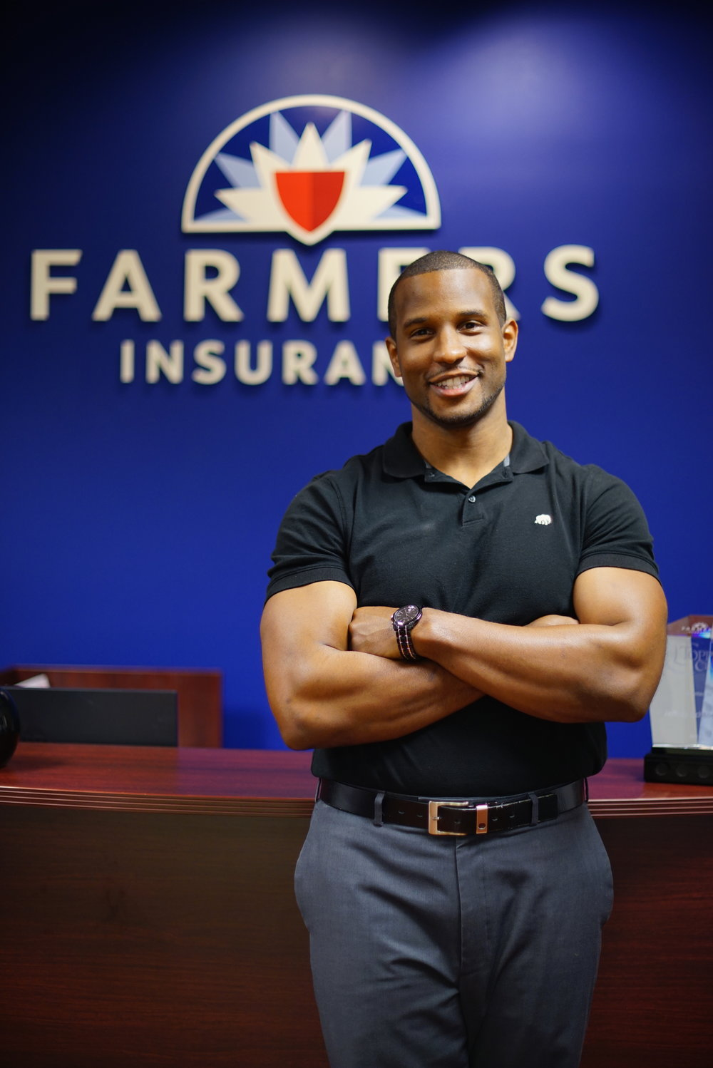 Farmers Insurance Working Portraits