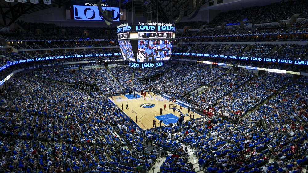 Dallas Mavericks, American Airlines Center Social Media