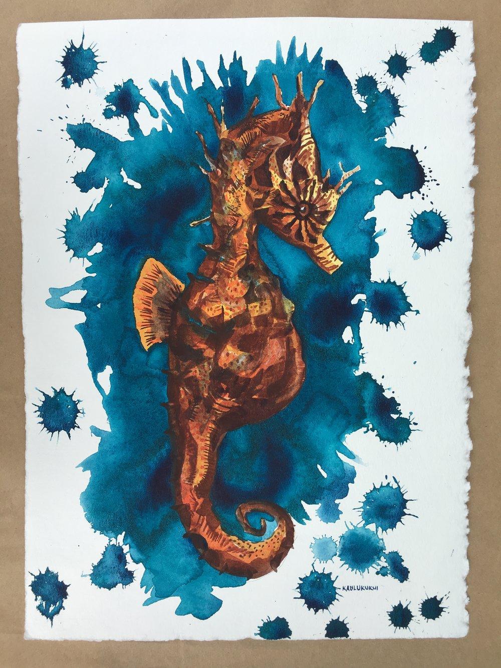 Happy Seahorse