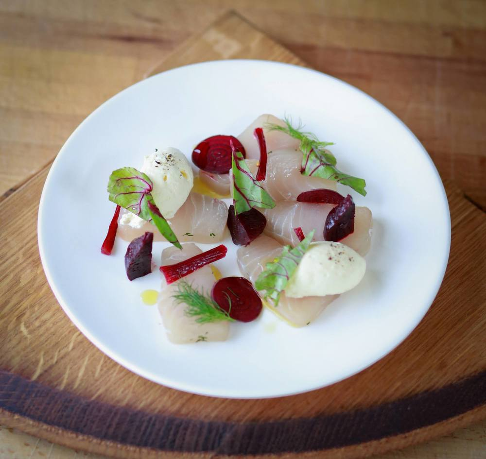 Kingfish + Beetroot