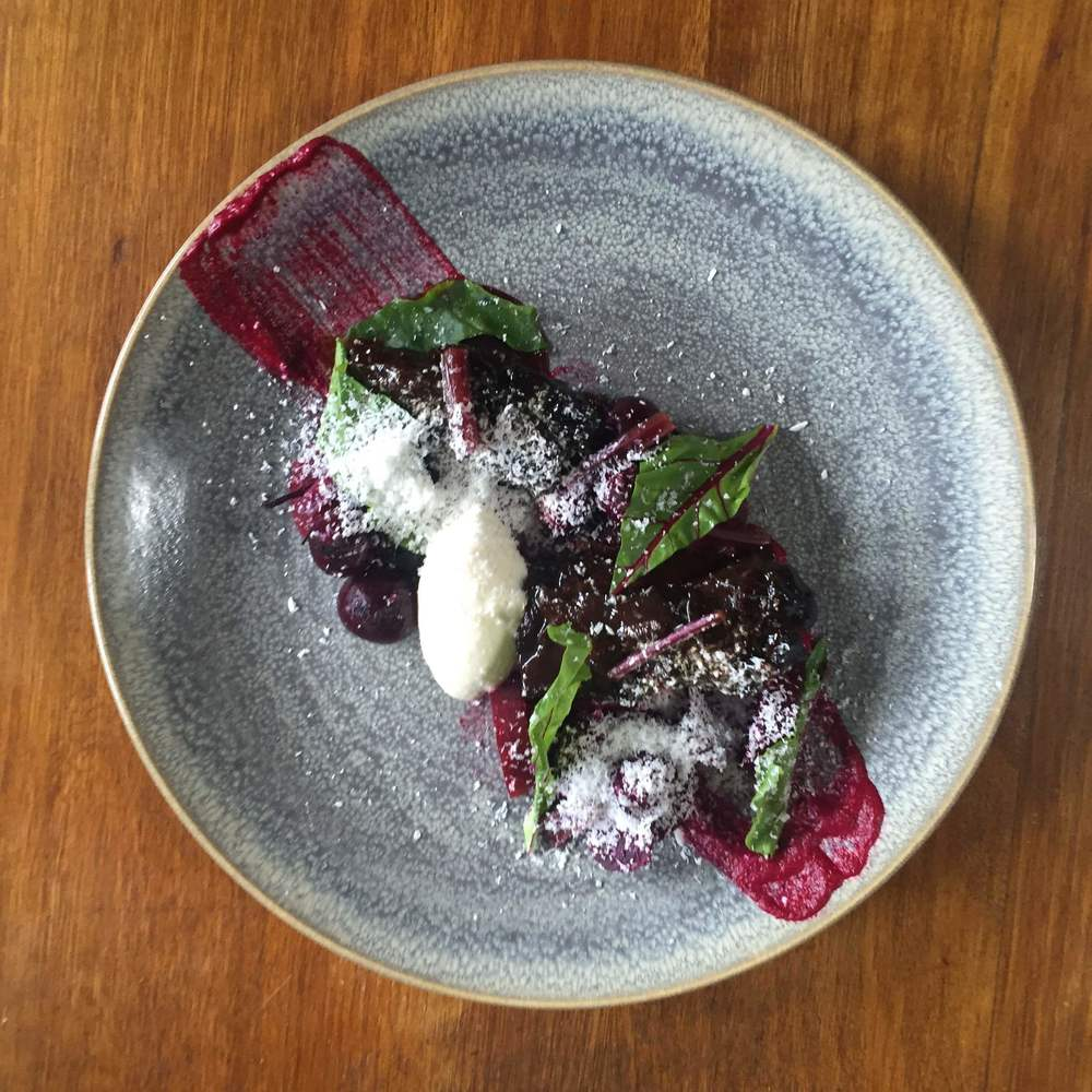 Short Rib + Beetroot + Feta