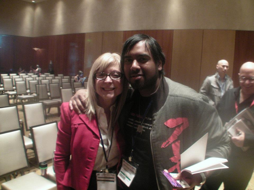 Founder Of CatsAndVR.com with  sex positive feminist, performer, director, author, and inspiration Nina Hartley.