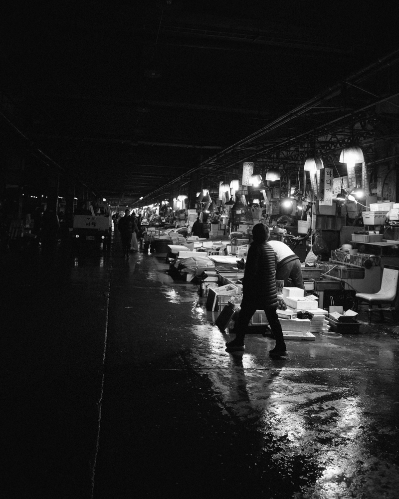 "5:00am ""Fish Market"""