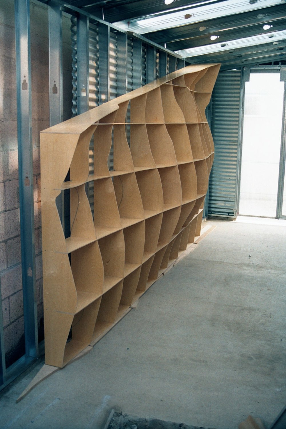 Topo Wall Partition