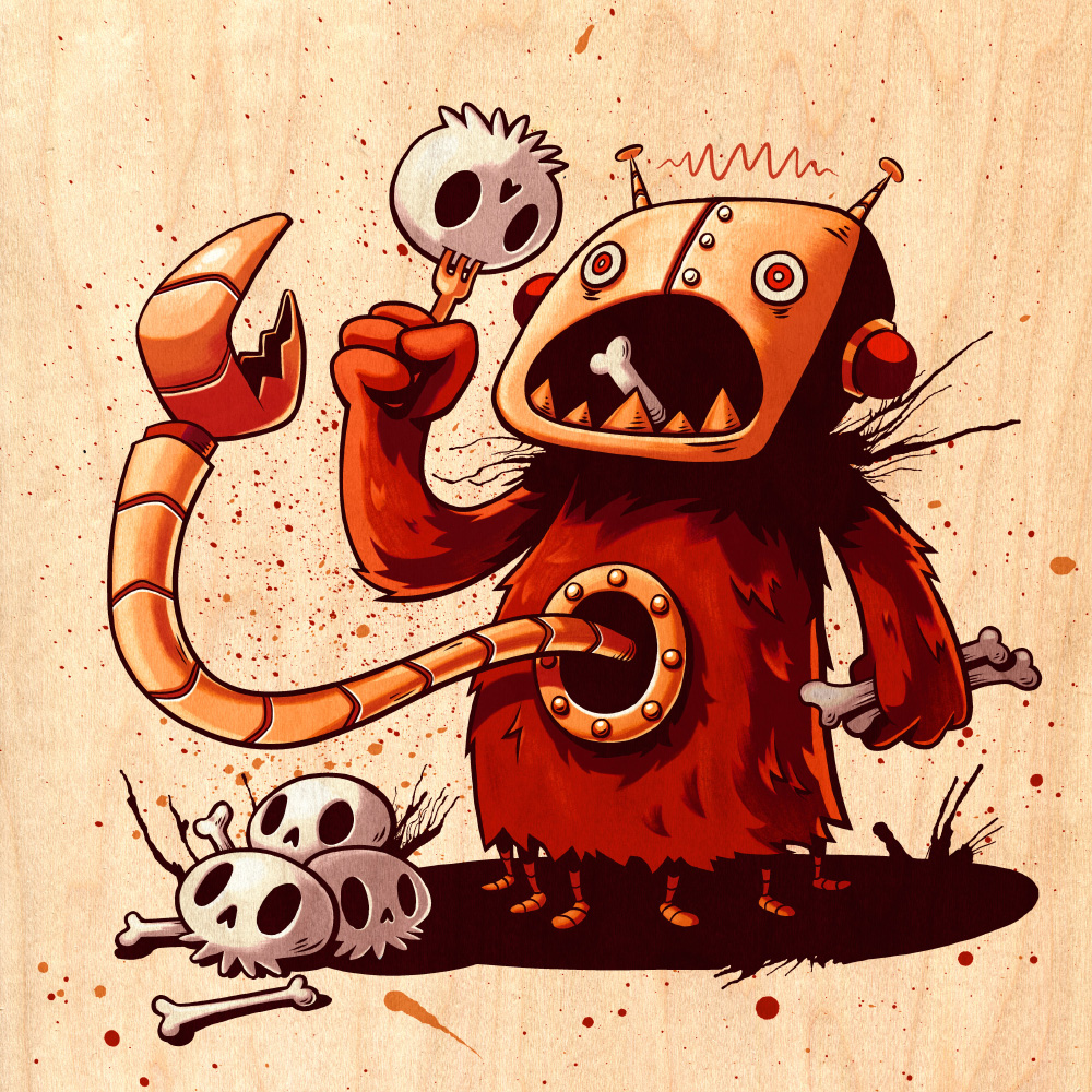 Sean Keeton Monster Robot