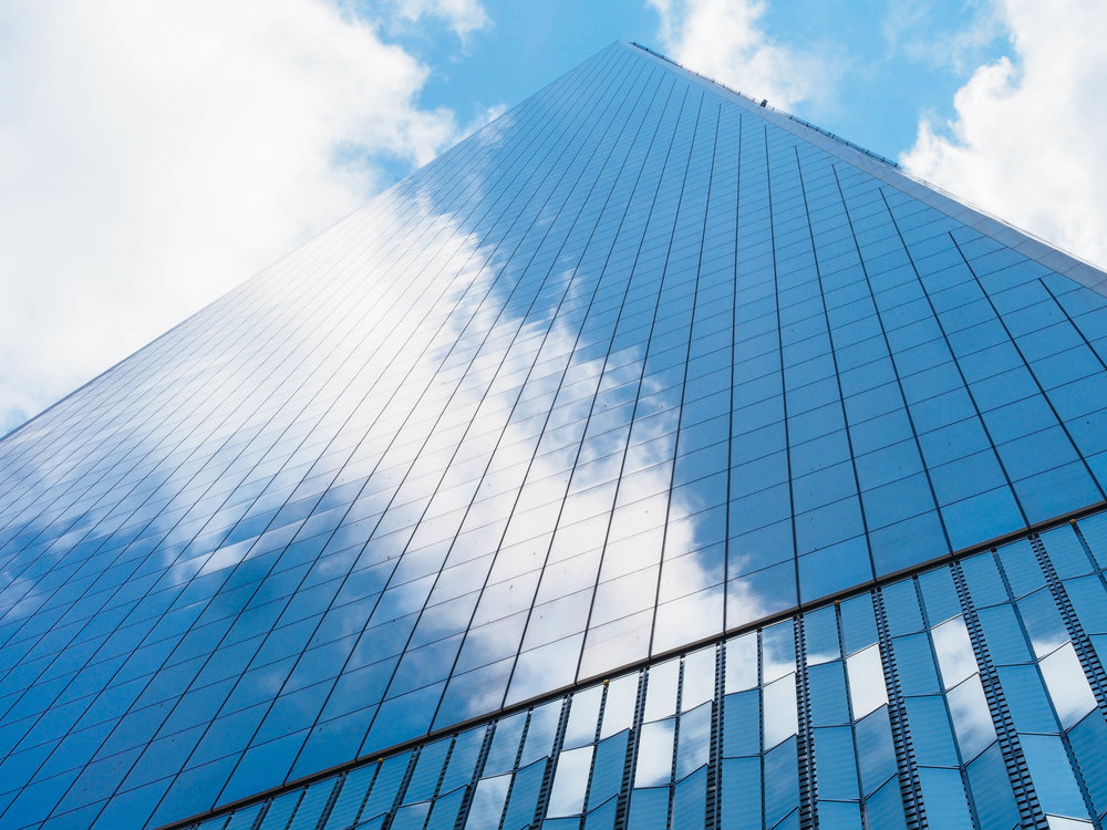 Onwards & Upwards // One World Trade Center -- 1/80 sec. f/18