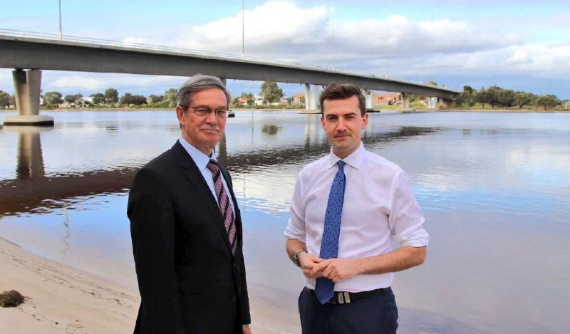 Leader of the Opposition Mike Nahan & Zak Kirkup