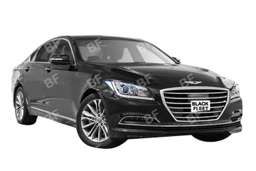 The Genesis, 4 seater luxury vehicle available for your chauffeured car needs. Luxurious, spacious, modern, elegant. Call us now on 1300 012 013.