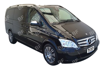 The Mercedes Viano, our people mover. It move up to 7 people. Available for weddings, day tours, airport transfers, hotel transfers. Call us now on 1300 012 013.