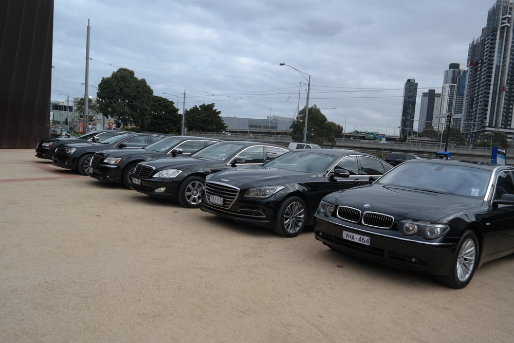 The Luxury Vehicle Parade