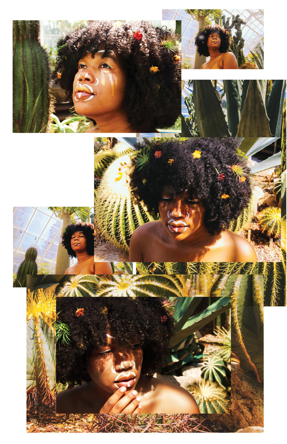 I'M NOT MAD ; JUST FIGHTING   Director of photography | Art Direction- Bryanna Jones; Model- Channing Moore, Photo shoot inspired by Black Femme Experience