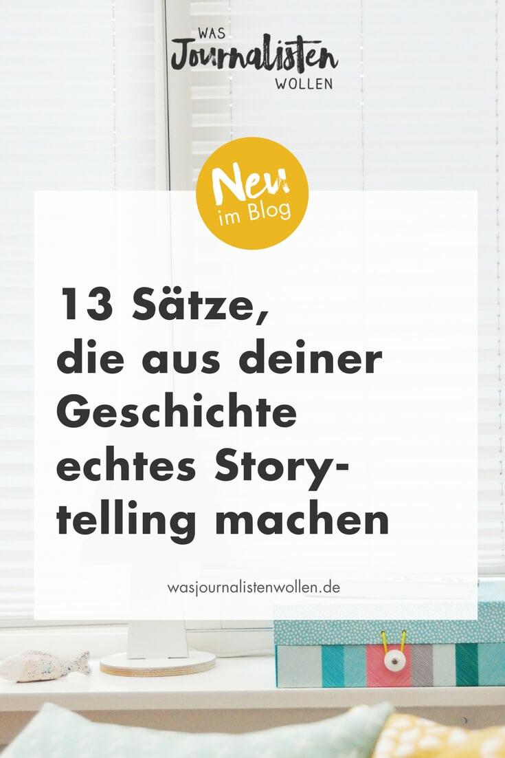 13 stze die aus deiner geschichte echtes storytelling machenjpg - Erlebniserzahlung Beispiel