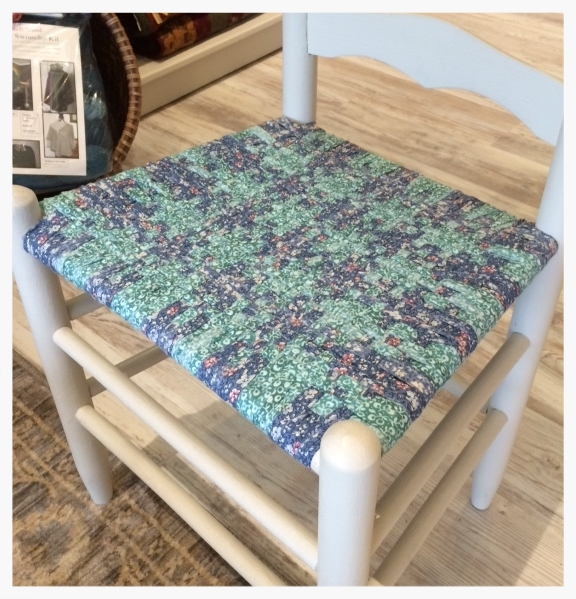 Watch And Learn How To Bring A Chair With A Broken Seat Back To Life. Using  Cotton Fabrics, Linda Will Be Weaving Seats Of Ladder Back Chairs.