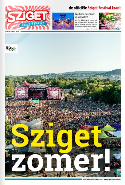 Sziget Festival Newspaper - Summer 2015 Edition