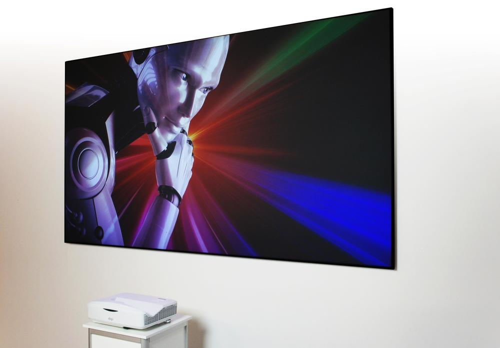 dnp LaserPanel - projector below