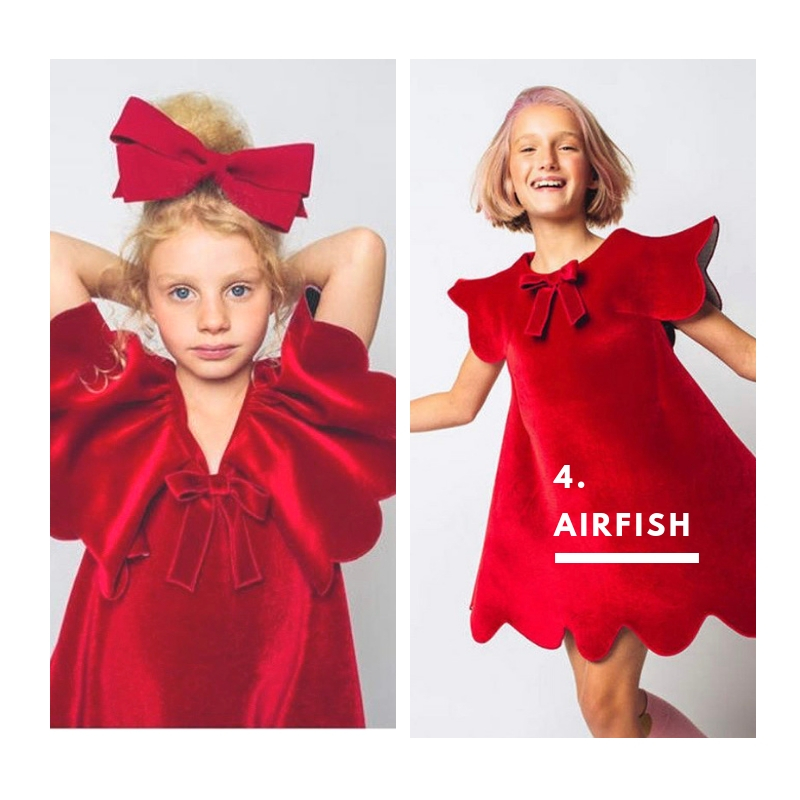 4. Airfish. Dance away with friends and family in these adorable playful dresses.