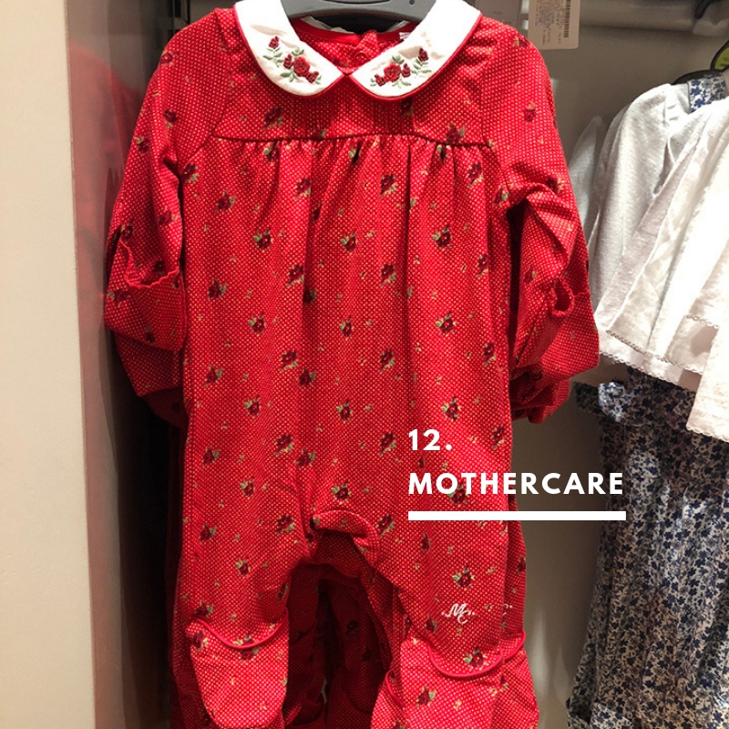 12. Mothercare. Giving Santa some serious twinning vibes :)