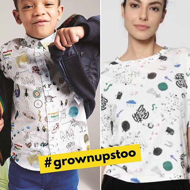 #grownupstoo is a fashion series of similar clothing across age groups. In our wonderful world we inspire one another. Grown-ups influence children and definitely the other way round too :)⠀ . ⠀ .⠀ .⠀ .⠀ .⠀ #fashionseries #childrensfashion #grownups #fashionbusiness #inspirationoftheday #instacool #love #cute #style #nokidding #styleinfluence #inspire 📷: @kikimora_magazine @paulsmith @onlyindia
