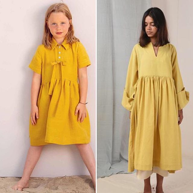 Sunshine comes in all sizes :) ☀️🙃 ⠀ ⠀ ********************************************⠀ ⠀  #grownupstoo is a fashion series of similar wardrobe finds across age groups. In our wonderful world we inspire one another. Grown-ups influence children and definitely the other way round too :)⠀⠀ . ⠀⠀ .⠀⠀ .⠀⠀ #fashionseries #childrensfashion #grownups #fashionbusiness #inspirationoftheday #instacool #love #instafashion #yellow #style #nokidding #styleinfluence 📷: @crow4you @hikahenri