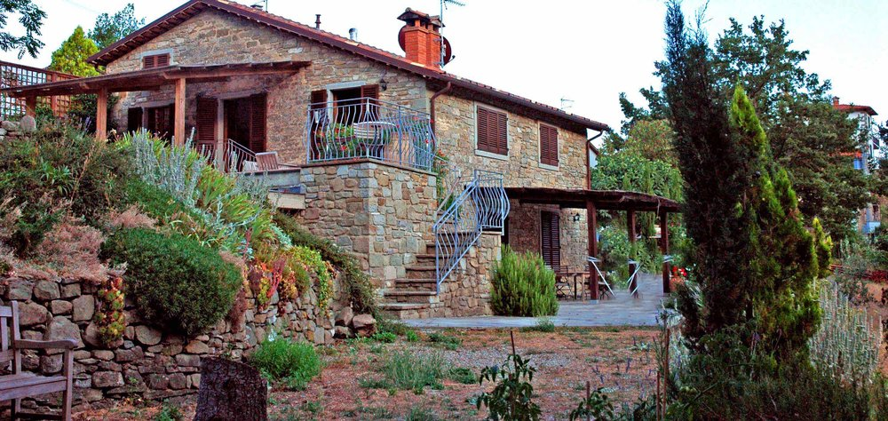 """Villa Cascade.  Alternative accommodation for a small group of friends or family. September retreats. See the """"Yoga & Photography Holiday"""" page for more information"""