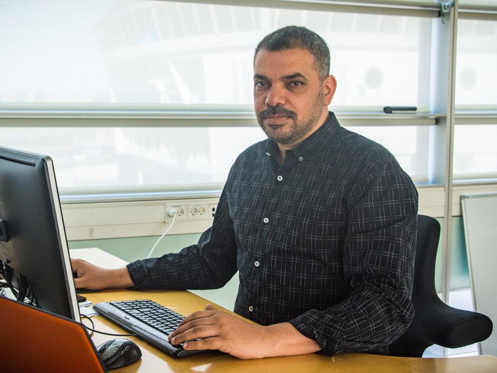 Nayef er hele tiden ét klik foran Nayef får i dagligdagen de svære udfordringer, når cBrains kunder oplever driftsproblemer.Han er konstant på forkant med den nyeste teknologi og udnytter dagligt cBrains flade ledelsesstruktur.