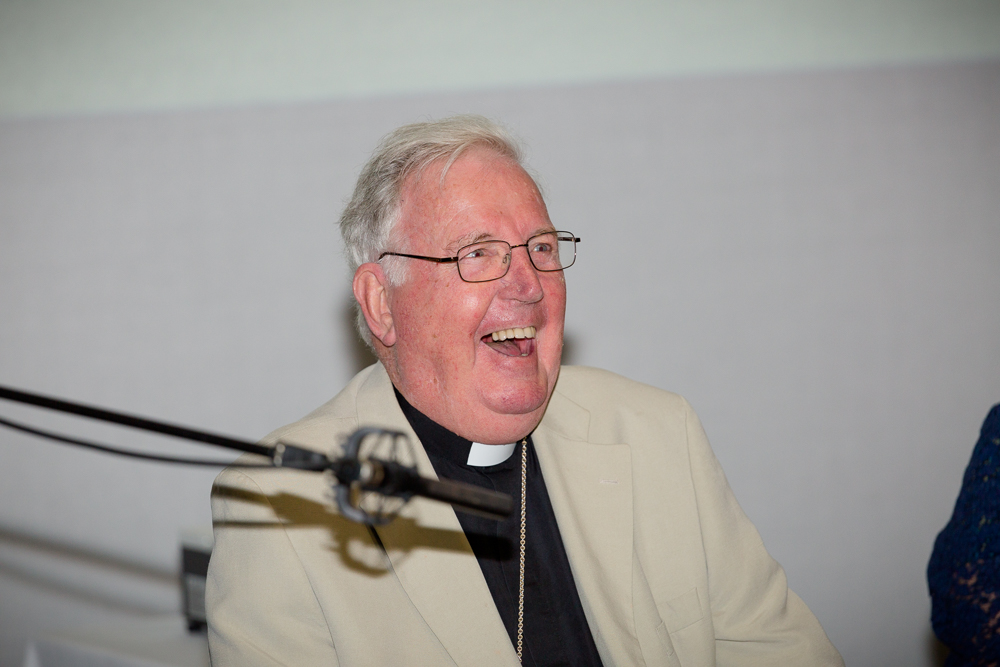 HE Cardinal Cormac Murphy-O'Connor sharing his insight on spirituality and well-being
