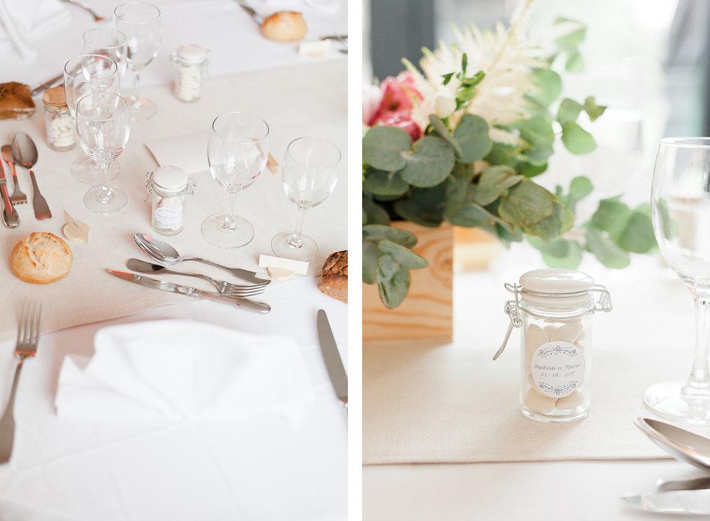 decoration de table mariage essonne