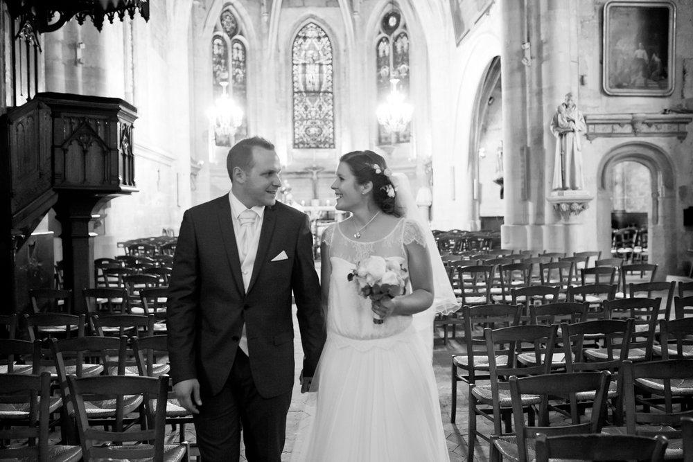 photographe mariage en eglise