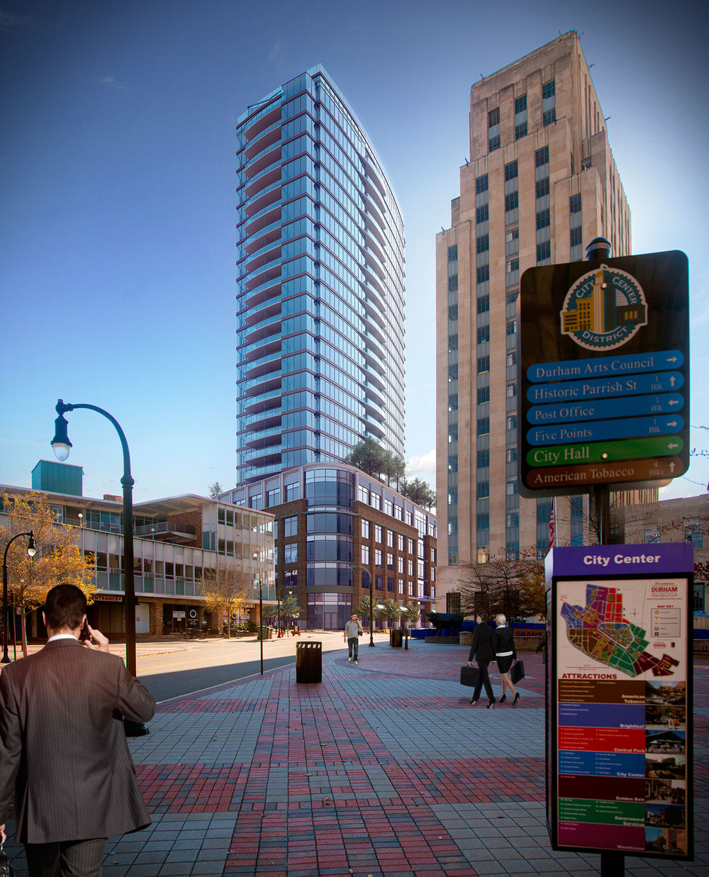 Our Neighborhood Explore Downtown Durham ONE CITY CENTER
