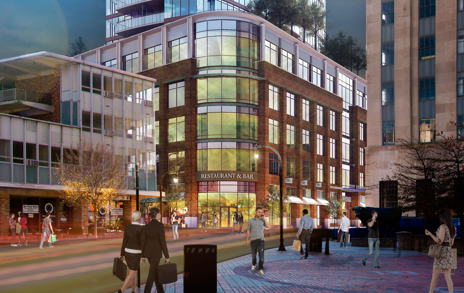 Retail Space Available ― Downtown Durham NC — ONE CITY CENTER
