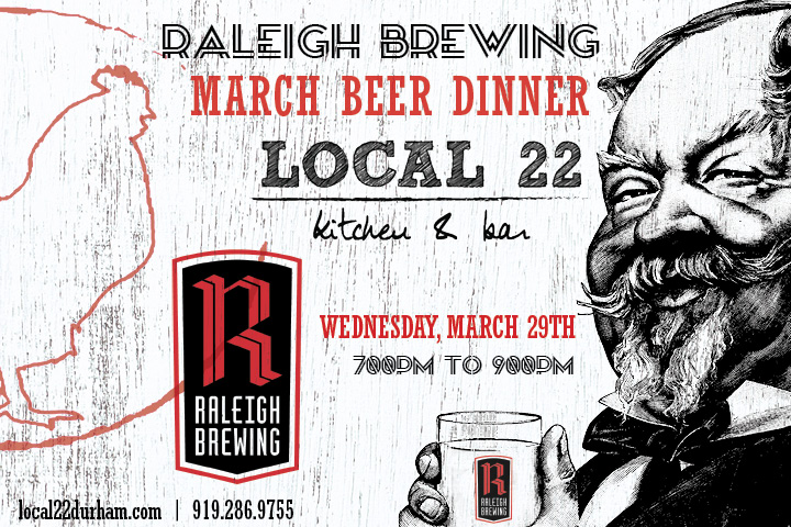 Local 22 Beer Dinner