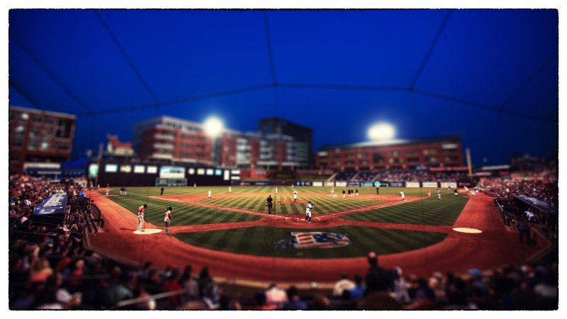 Durham Bulls Opening Night