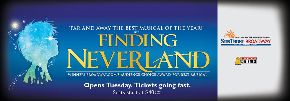 Finding Neverland DPAC