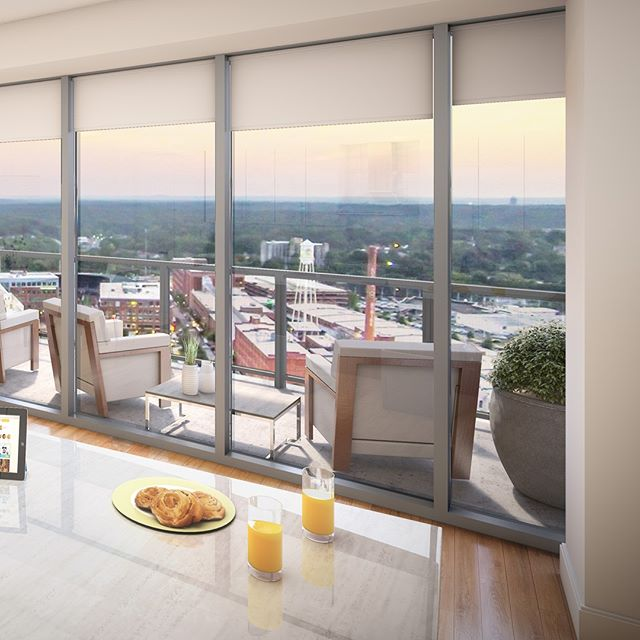 Start the day with mimosas and enjoy breathtaking, panoramic views from your private balcony 🥂🍊 Call today to reserve your spot on our hard hat tour. It's never too early to get a sneak peak of your new home! 📲 919.680.6221 . . . . . . . . #onecitycenter #downtowndurham #durhamnc #bullcity #durm #RTP #ResearchTriangle #ResearchTrianglePark #RTPNC #RDU #919 #DurhamRealEstate #DurhamHomes #DurhamRealty #duekalumni #foreverduke #luxuryapartment #apartmentliving #apartmentlife #apartmentgoals #downtownliving #urbanlife #downtownlife #rooftoppatio #lifeindurham