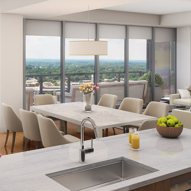 Picture yourself cooking in this chef inspired kitchen overlooking Downtown Durham. Lease TODAY and be cooking by September! Book your hard hat tour and see why living at ONE CITY CENTER rises above the rest 984.439.0797 . . . . . . . #ONECITYCENTER #DowntownDurham #DurhamNC #Durm #BullCity #BullCityLove #DurhamRealEstate #Downtownliving #downtownlife #OCC #RooftopPool #LifeInTheSky #VerticalLiving #DurhamSkyline #DowntownSkyline #FloorToCeilingWindows #BullCityRising #PrivateBalcony #SmartHome #quartzcountertops #nowleasing #RTP #RaleighResearchTriangle #RDU #RDUHomes #919 #nowleasing #1bedroom #2bedroom