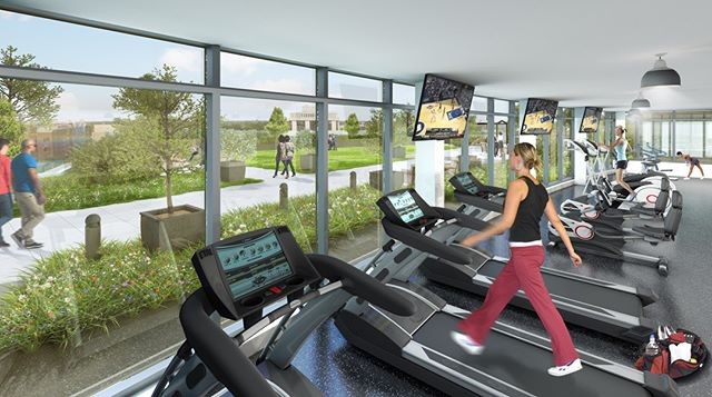 No time, no problem. Our state-of-the-art fitness center allows you to lift, spin, or namaste within your home at ONE CITY CENTER. Located on the 6th floor with 24hr access, never think about missing your next workout again!  Contact us now to schedule a hard hat tour and learn more about life in the sky 📱984.439.0797 ✉️onecitycenter@greystar.com . . . . . . #onecitycenter #downtowndurham #durhamnc #durm #bullcity #bullcitylove #RTP #RDU #RaleighDurham #DurhamRealEstate #AtHomeGym #LuxuryLiving #NowLeasing #1Bedroom #2Bedroom #Fitness #FitnessLove #Healthylifestyle #spinfreak #lift #yoga #yogalove #downtownapartments #hardhattour #openconcept #apartmentgoals #gmylife