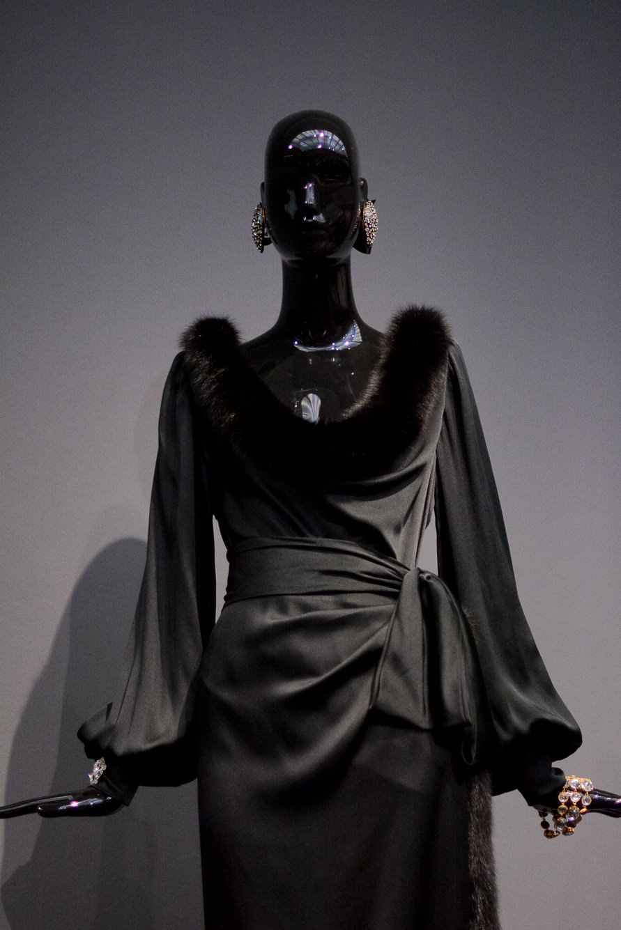 Hubert de Givenchy black gown