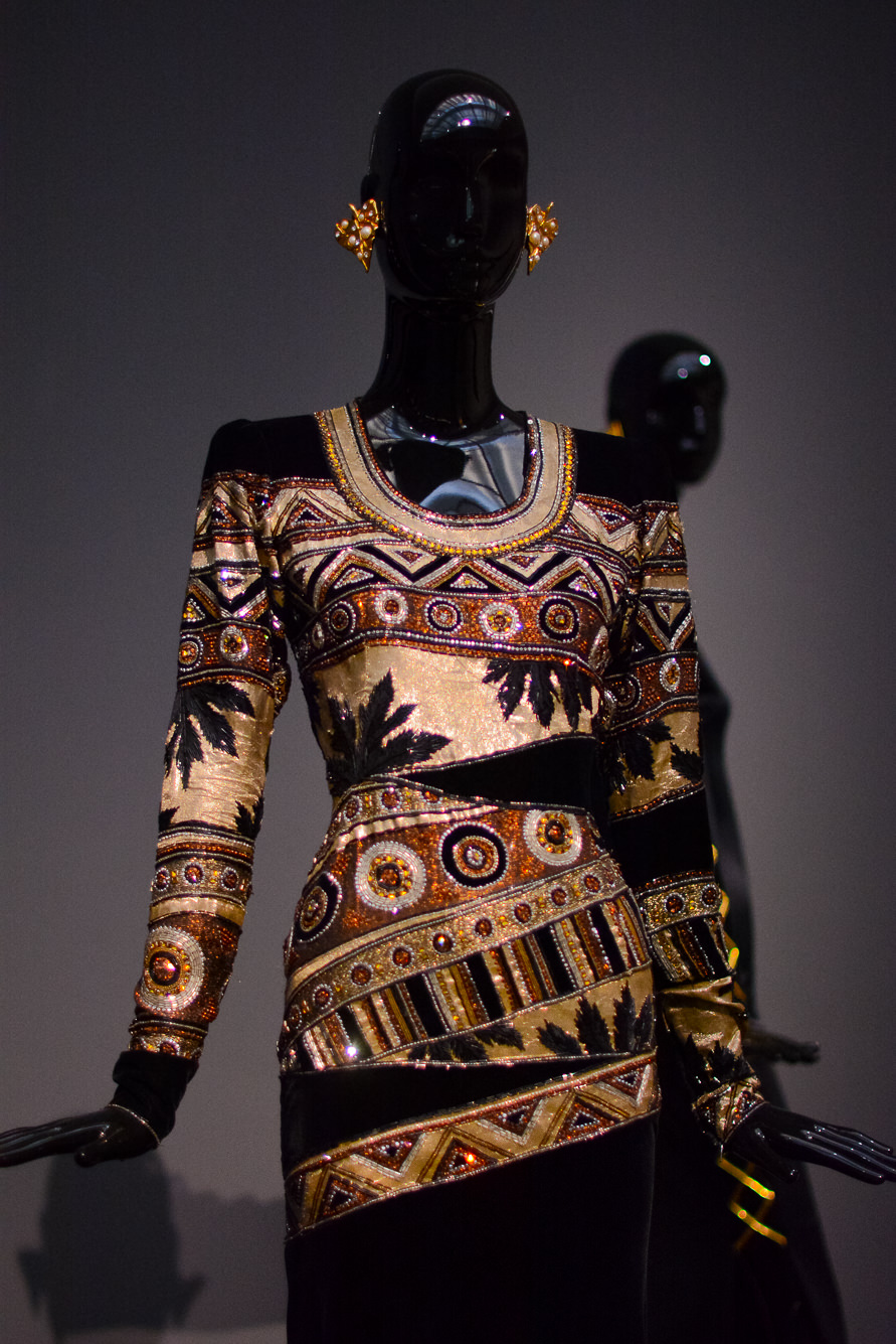 Givenchy tribal dress