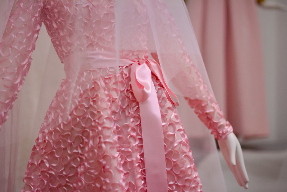 Givenchy bridal pink dress
