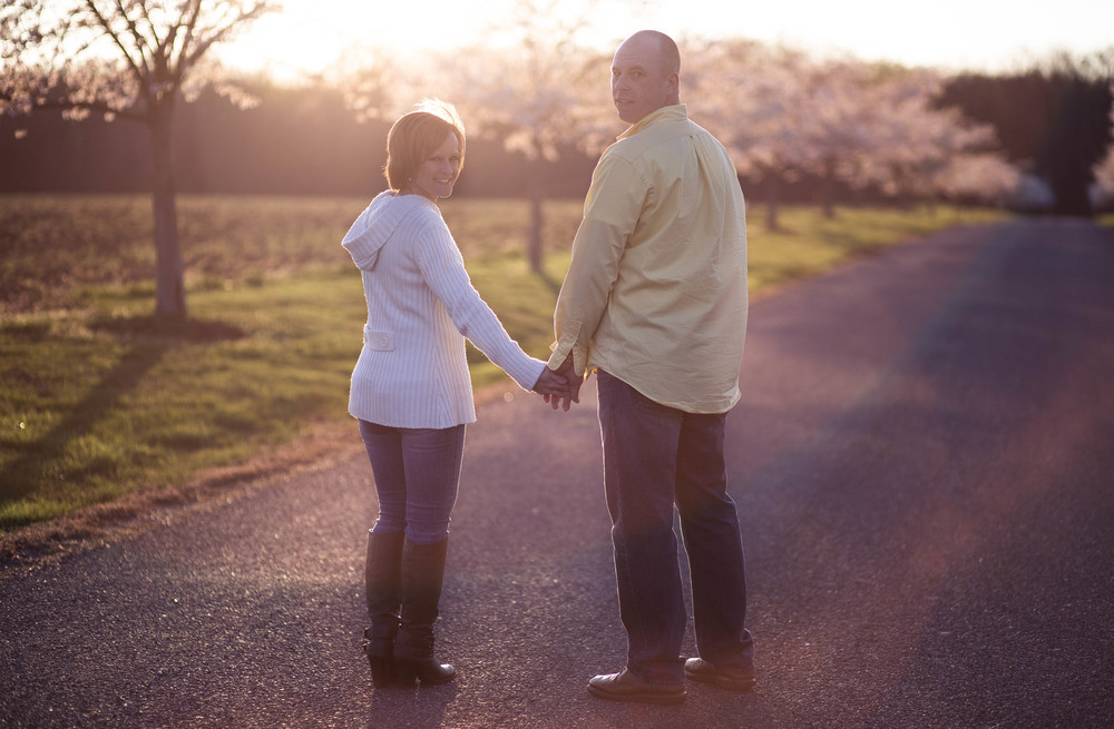 Patrice and Damion   Havre de Grace engagement style session.