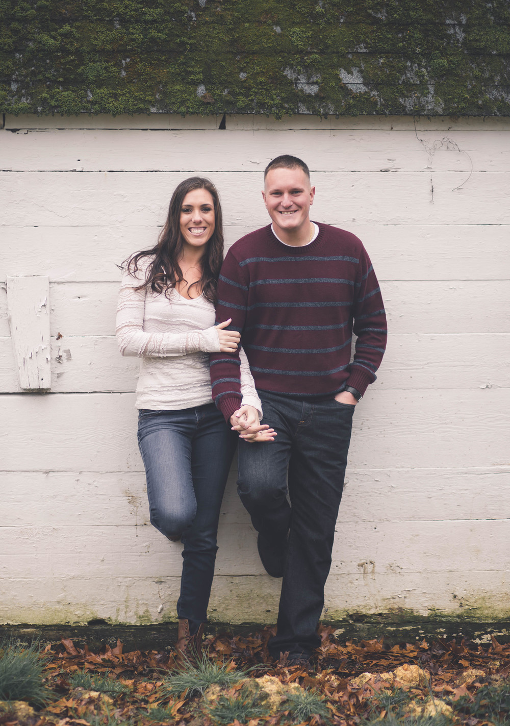 Briana and Glyn, engagement session in   Elkton Maryland.